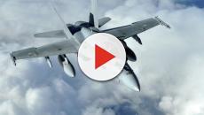 Un caza español voló cerca del avión del Ministro de Defensa ruso, Sergei Shoigu