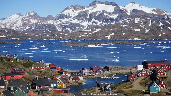 President Donald Trump asks if the US can buy Greenland