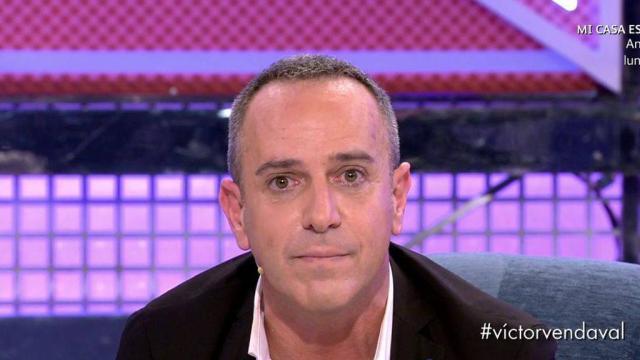 Víctor Sandoval estalla contra su expareja, Nacho Polo