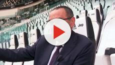 Juventus, Sarri si sta curando dalla polmonite: il tecnico non ha diretto l'allenamento
