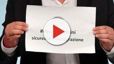Attesa per le comunicazioni del Presidente del Consiglio Giuseppe Conte in Senato