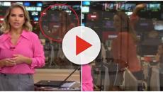 Maria Beltrão é vista dançando ao vivo durante telejornal