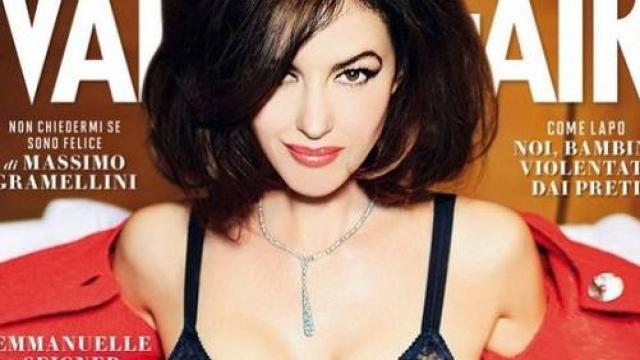 Monica Bellucci si è raccontata in una lunga intervista a Vanity Fair