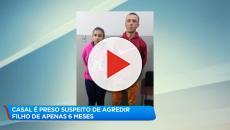 Casal é preso suspeito de quebrar braços e pernas de bebê de 6 meses