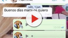 La viuda de Reyes, Noelia López, publica el último WhatsApp que le mandó el futbolista