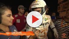 Caio Castro capota carro, no Rally dos Sertões