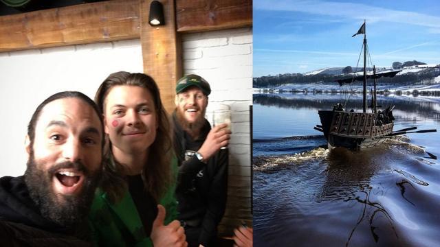 Ator divulga fotos da sexta temporada de 'Vikings'