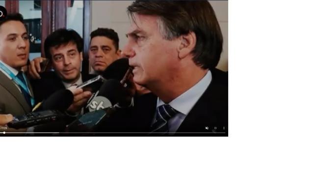 Bolsonaro afirma que uma 'falsa acusação' contra alguém próximo a ele irá estourar