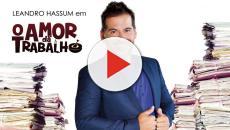 Leandro Hassum é o protagonista do filme 'O Amor dá Trabalho'