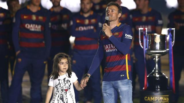 Ex-Barcelona boss Luis Enrique pays tribute to daughter after tragic death