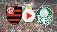 Flamengo x Palmeiras ao vivo neste domingo (1º), a partir das 16h