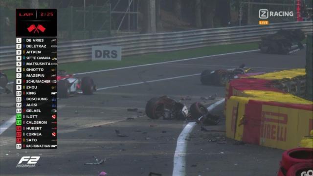 Piloto francês Anthoine Hubert morre após forte acidente na Fórmula 2