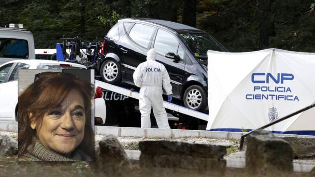 Hallado en un paraje de Cercedilla el coche con el que desapareció Blanca Fernández Ochoa