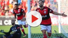 Flamengo venceu o Palmeiras por 3 a 0
