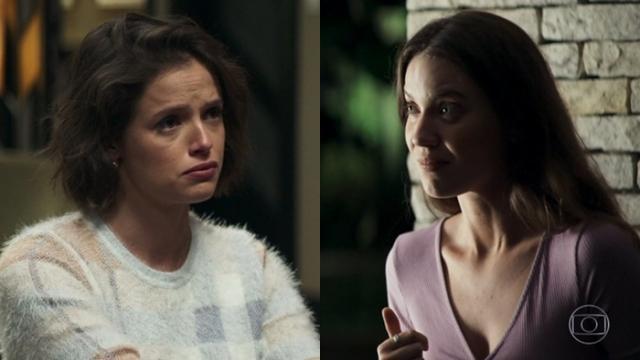 Josiane tenta matar Fabiana e leva uma surra da irmã de Vivi Guedes