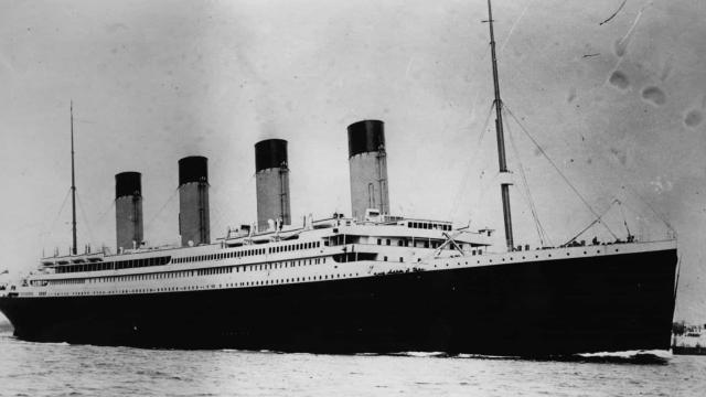 Titanic tem imagens feitas em 4K pela primeira vez