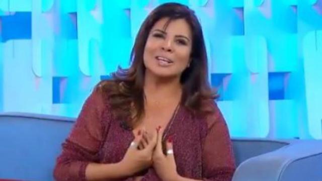 Mara Maravilha não faz mais parte da bancada do Fofocalizando