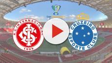 Internacional x Cruzeiro: transmissão ao vivo na TV Globo, nesta quarta (4), às 21h30