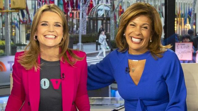 Hoda Kotb returns to the 'Today' Show