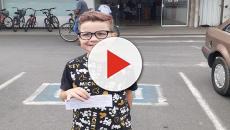 Garoto trans de 8 anos conquista documento com nome masculino