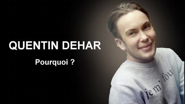 Quentin Dehar s'est suicidé 'à cause d'une histoire d'amour' selon Beverly