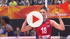 Volley donne, semifinali Europeo: Serbia-Italia 3-1