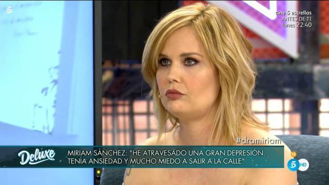 Miriam Sánchez reaparece con una nueva imagen y habla de su adicción a la cocaína