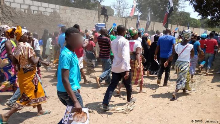 Apoio humanitário insuficiente em Moçambique