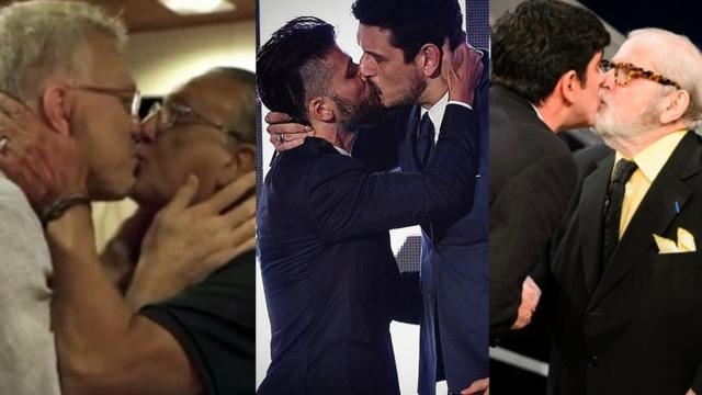 6 famosos que já beijaram outros homens