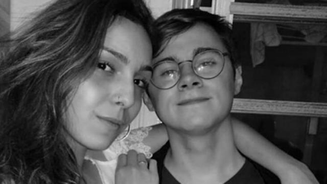 Namorada de Rafael Miguel recebe críticas após a morte do ator e se manifesta