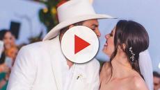 Mano Walter e Débora Silva se casam com presença de muitos famosos
