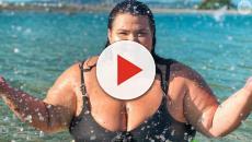 Pesando 145 kg, Thais Carla anuncia segunda gravidez