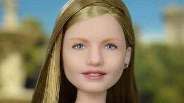 Una muñeca de la princesa Leonor es diseñada por una empresa rusa