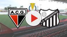 Atlético-GO x Bragantino: transmissão ao vivo nesta sexta (13), às 21h30