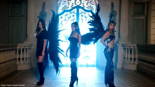 'Charlie's Angels:' Ariana Grande, Miley Cyrus & Lana Del Rey in 'Don't Call me Angel'