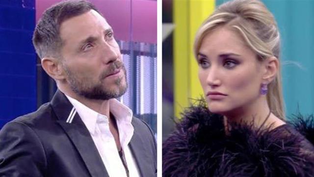 Acusaciones de amenazas protagonizan la discusión de Alba Carillo y Antonio David