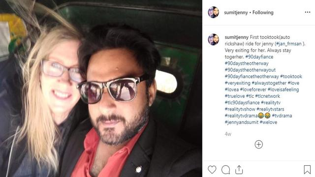 '90 Day Fiance: The Other Way' - Jenny seen in the USA without Sumit