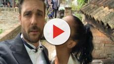 Georgette Polizzi e Davide Tresse sono convolati a nozze con rito simbolico