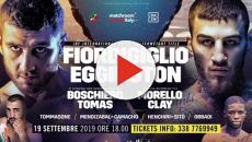 Fiordigiglio vs Eggington, il 19 settembre titolo internazionale IBF dei superwelter
