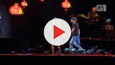 Anitta correu assustada após fã invadir o palco