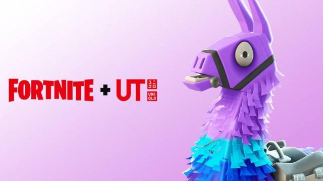 Epic Games gives first look at Fortnite X Uniqlo hoodies and shirts