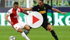 Inter - Slavia Praga: la partita termina con 1-1 grazie al bareggio di Barella