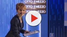 Otto e Mezzo, discussione in diretta tra la giornalista Gruber e la senatrice Borgonzoni