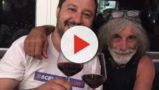 Mauro Corona elogia l'operato di Matteo Salvini