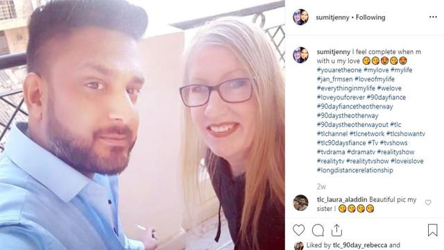 '90 Day Fiance': Jenny and Sumit appear to be together after she heard he was married