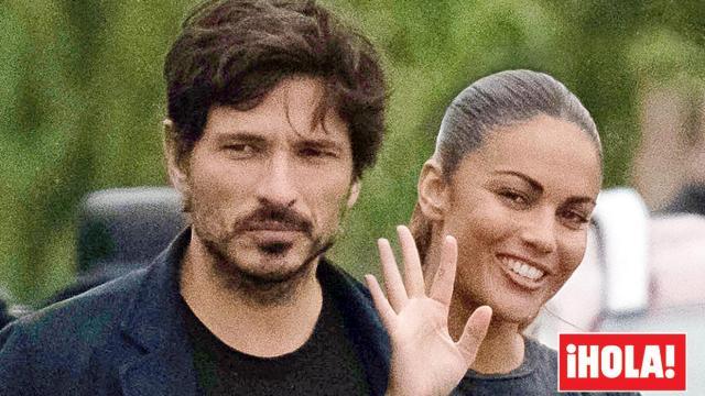 Andrés Velencoso y Lara Álvarez se dejan ver juntos por las calles de Madrid