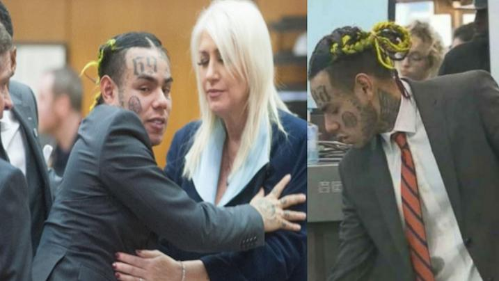 6ix9ine in aula a New York: 'Anche Trippie Redd è membro di una gang'