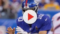 Eli Manning reacts to his first day as Giants backup