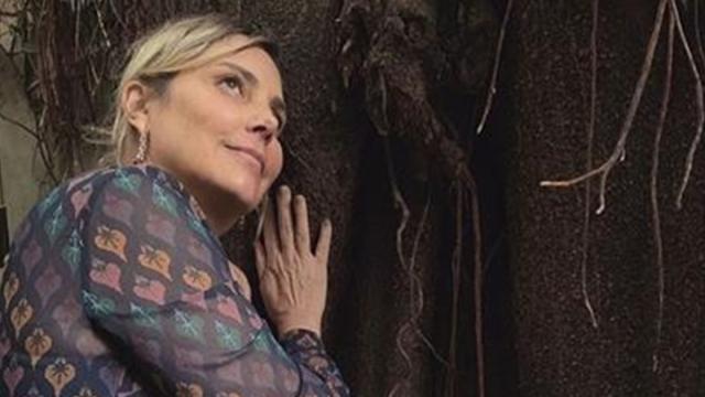 Heloisa Périssé celebra reta final do tratamento contra o câncer
