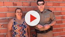 Policiais militares de Goianésia se unem e constroem casa de funcionária do quartel